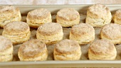 Freshly baked buttermilk biscuits