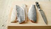 Fischfilets mit Haut