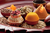 An arrangement of oriental spices