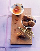 Meatballs with chilli sauce