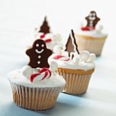 Weihnachtliche Cupcakes