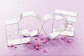 Ausstechförmchen zum Valentinstag