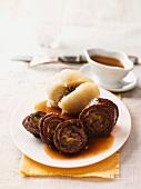 Beef roulade with potato dumplings
