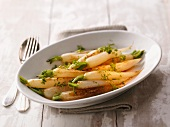 Teltower turnips with parsley