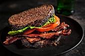 BLT Sandwich on 12 Grain Bread