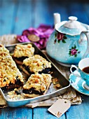 Prune and oat slices