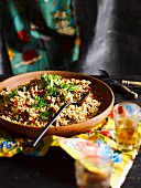 Creole-style rice with pork