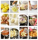Gnocchi mit Amatriciana-Sauce zubereiten