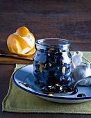 Olive all'arancia (Oliven mit Orangenschale & Knoblauch)