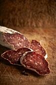 Salame veneto (Salami from Venice, Italy)