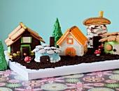 Assorted Fairy House Cakes