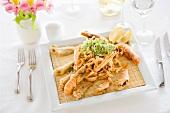 Tempura di pesce e crostacei (fish and crustacean tempura)