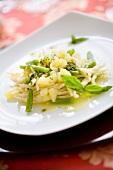 Trofie al pesto (pasta with pesto, green beans and potatoes)