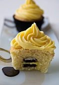 Liquorice allsorts cupcake