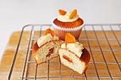 Apricot and vanilla cupcakes