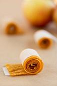 Fruchtleder aus Apfelsaft