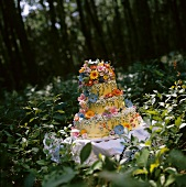 Forest Wedding Cake