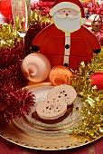 Foie gras on spiced bread for Christmas