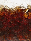 A glass of cola (close-up)