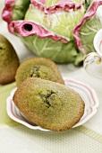 Green tea madeleines