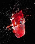 Jelly exploding