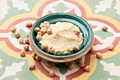 Hummus and chick peas