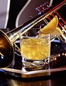 Treacle (Drink mit Rum und Apfelsaft)