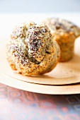 Poppy seed muffins with ricotta