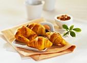 Small Danish pastries