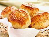 Four cheese scones