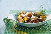 Rosemary potatoes with garlic