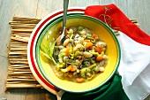 Zuppa di fagioli (Italian bean stew)
