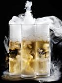 Liquid nitrogen shots