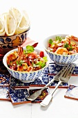 Prawns in spicy tomato salsa