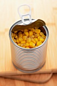 Sweetcorn in a tin
