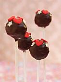 Cake pops for Valentine's Day