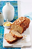 Banana bread with macadamia nuts