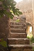 Verschwiegene Steintreppe