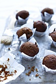 Nut and date muffins