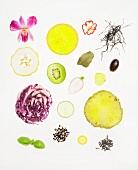 Obst, Gemüse und Gewürze