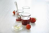 Schnell gemachte Marmelade