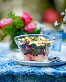 Beetroot salad with apple