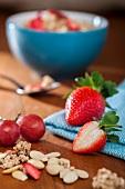 Ingredients for crunchy muesli