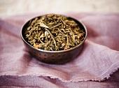 Small Bowl of Loose Green Tea