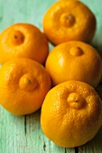 Five Bergamot oranges