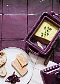 Foie gras (goose liver pâté)
