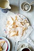 Russian deep-frying dough