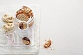 Yule biscuits, sugar pretzels and ginger biscuits (Sweden)