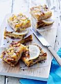 Spanish omelette with lemons
