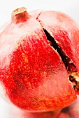 A Cracked Pomegranate; Close Up